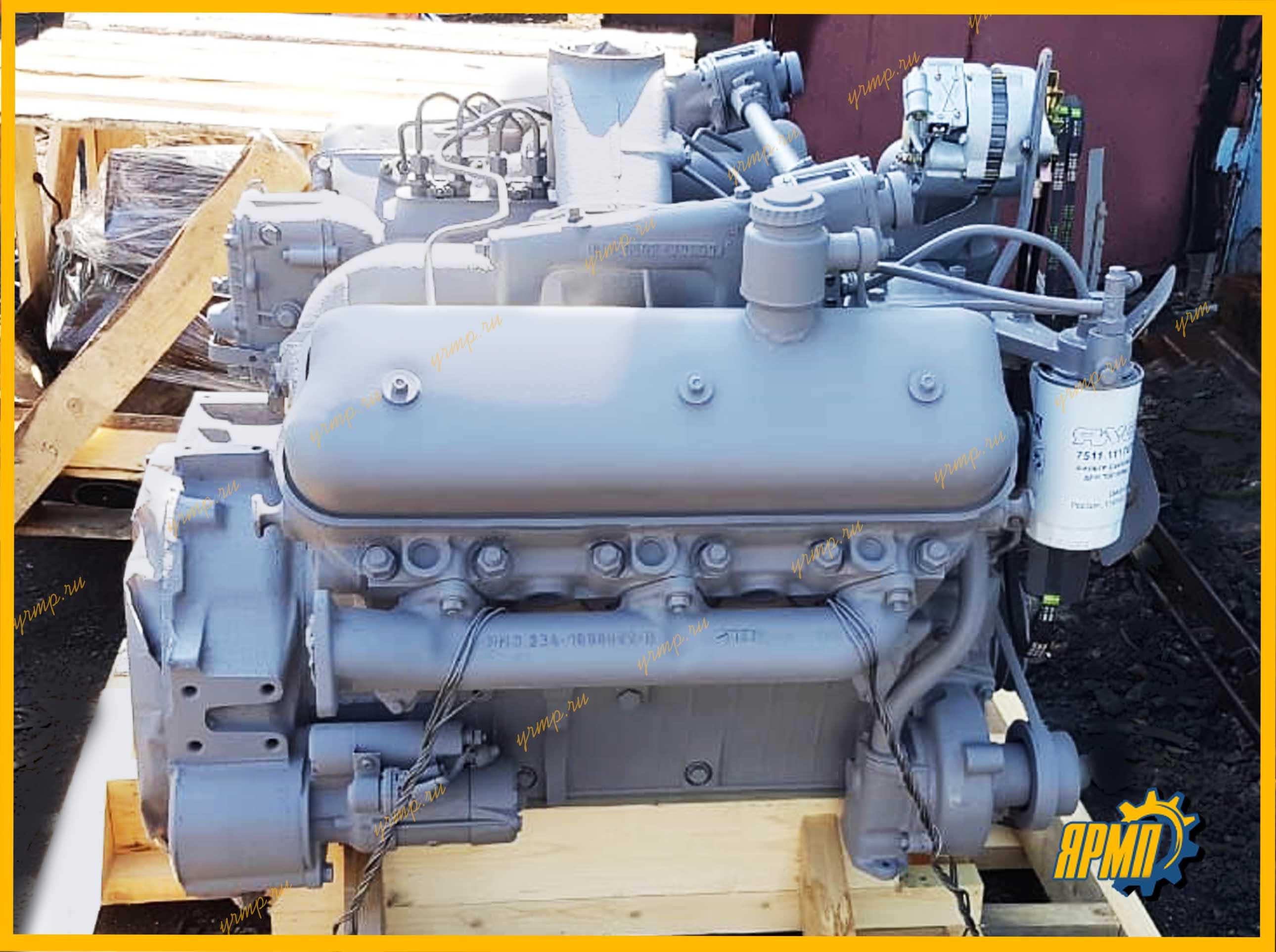 двигатель ЯМЗ-236 с хранения