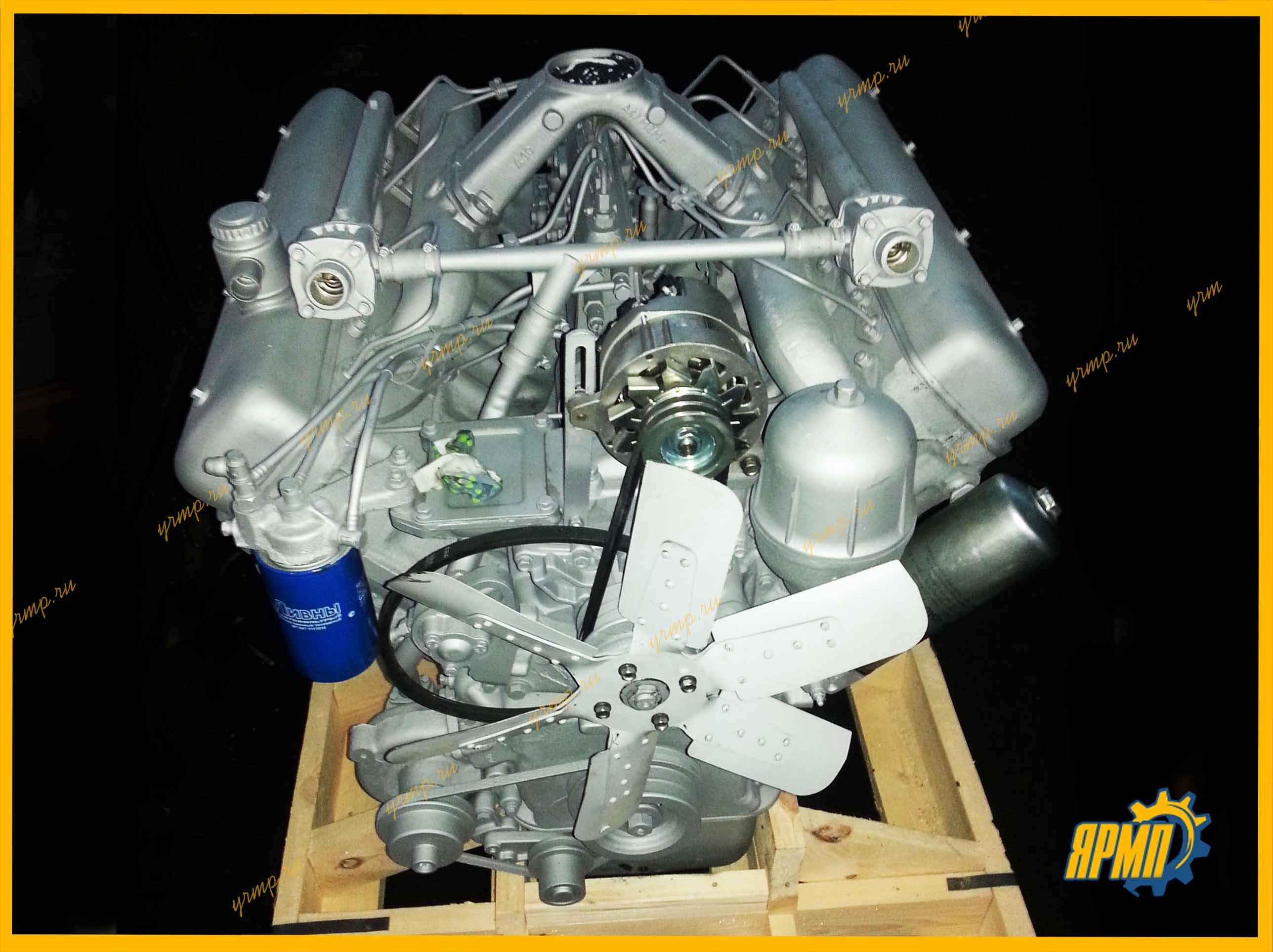 ремонт двигателя ЯМЗ-238М2