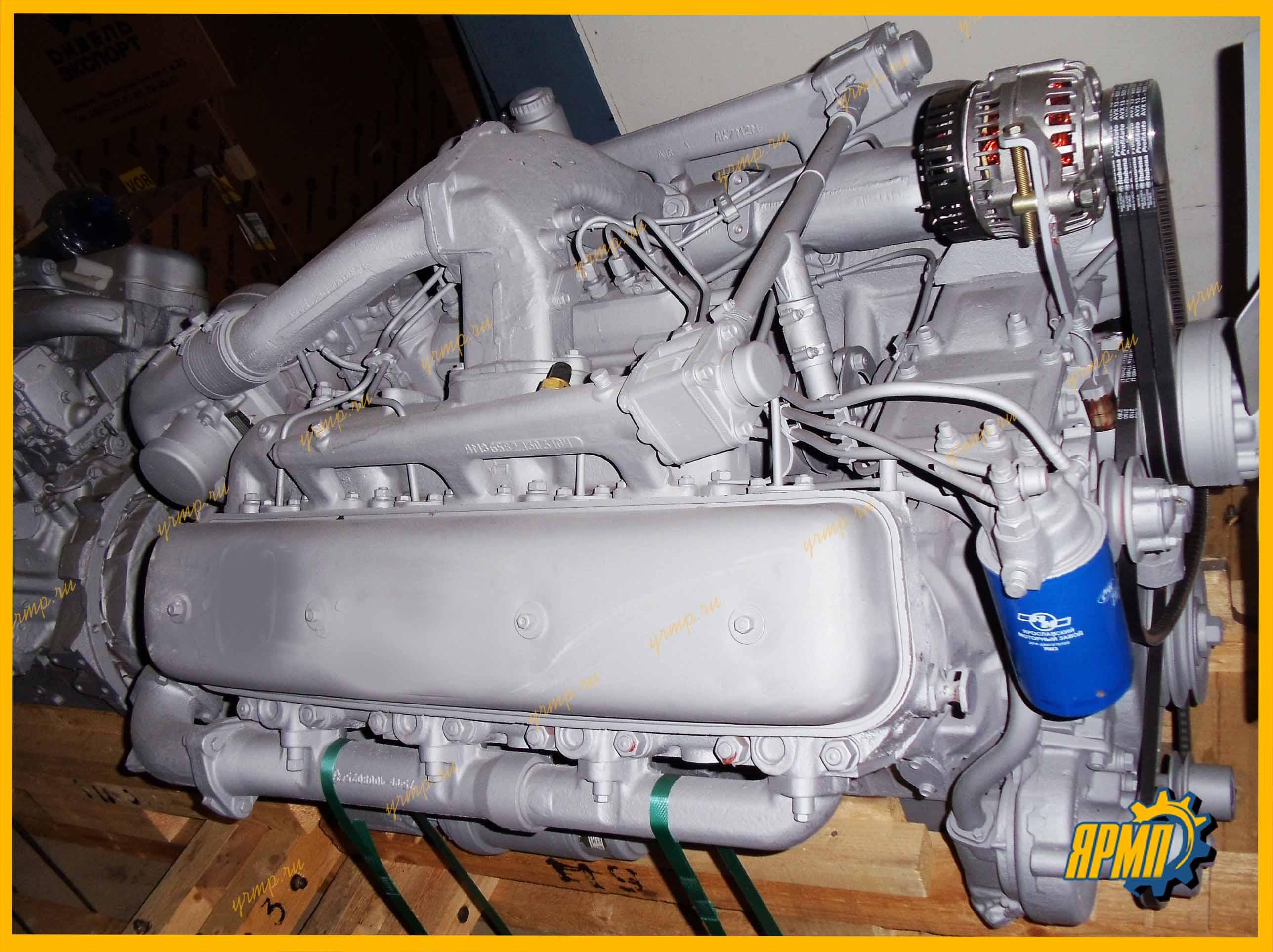 двигатель ЯМЗ-238НД5