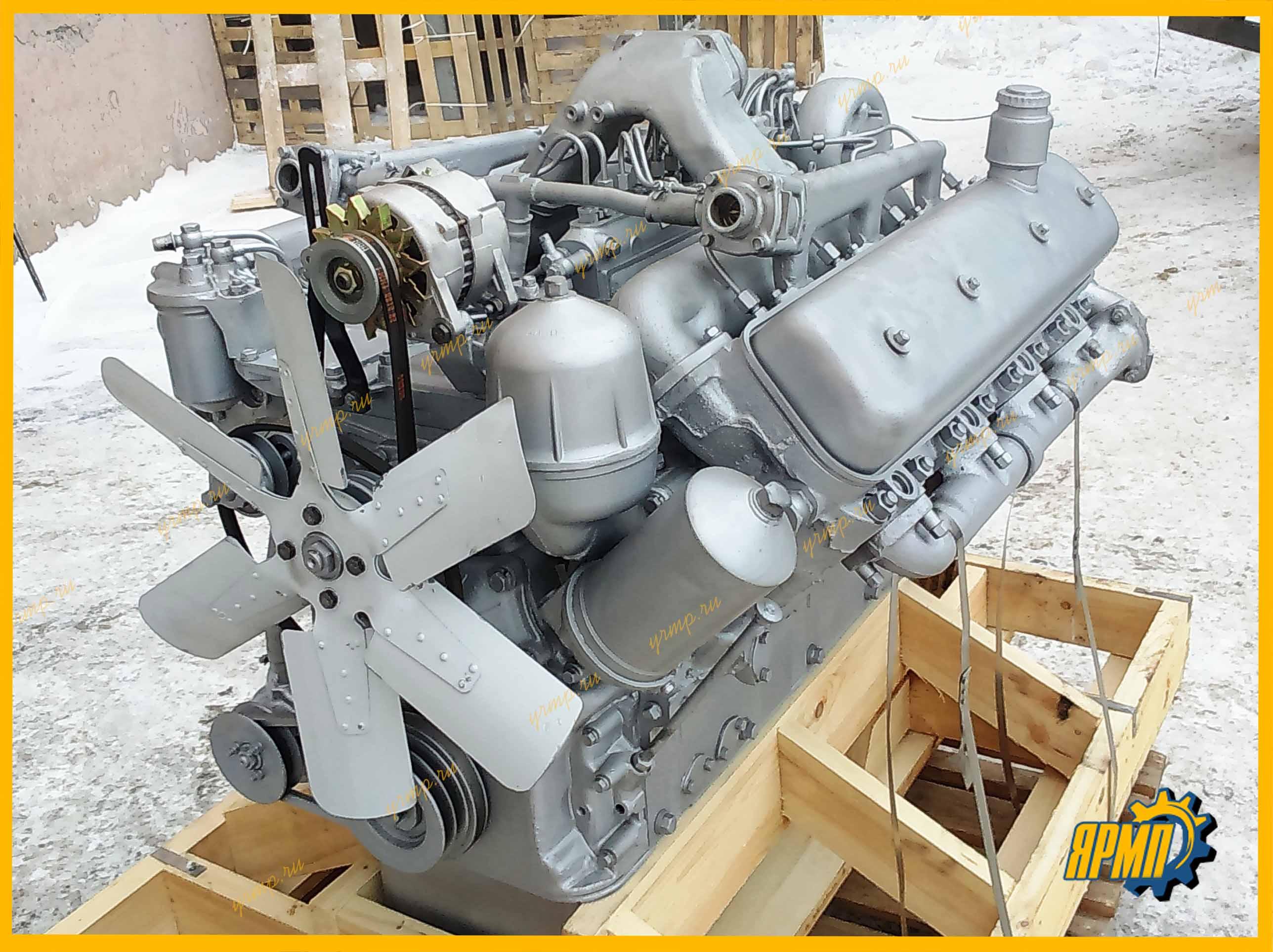Двигатель ЯМЗ-238 кап ремонт