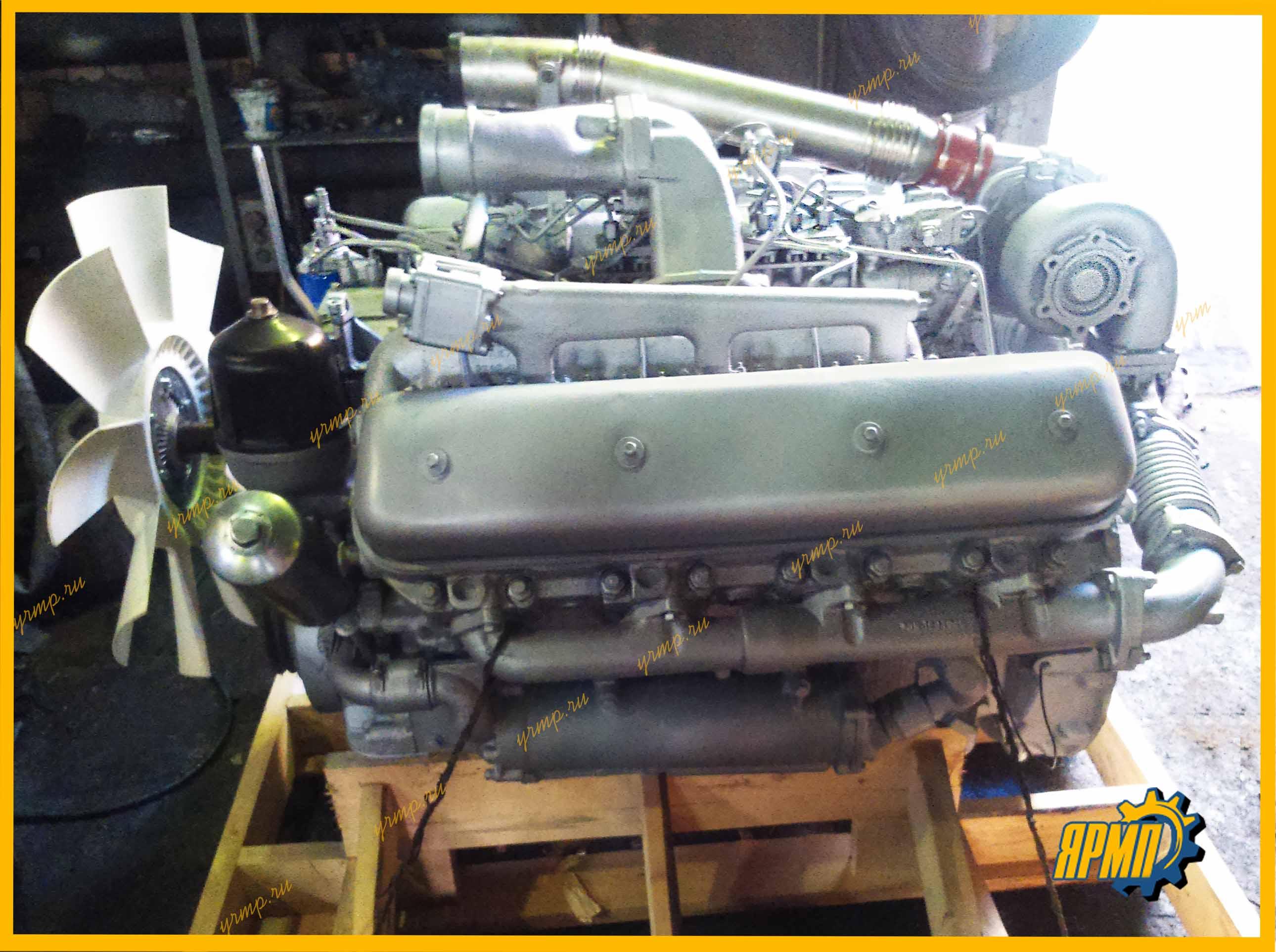 ЯМЗ-7511 двигатель