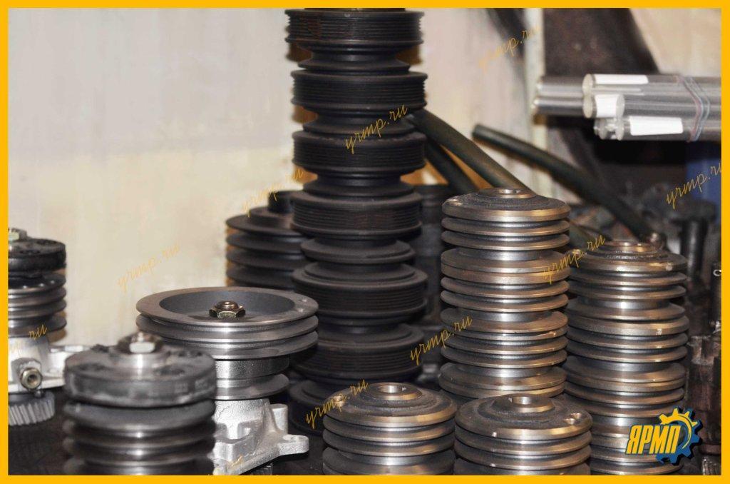 Шкивы для сборки приводов вентилятора