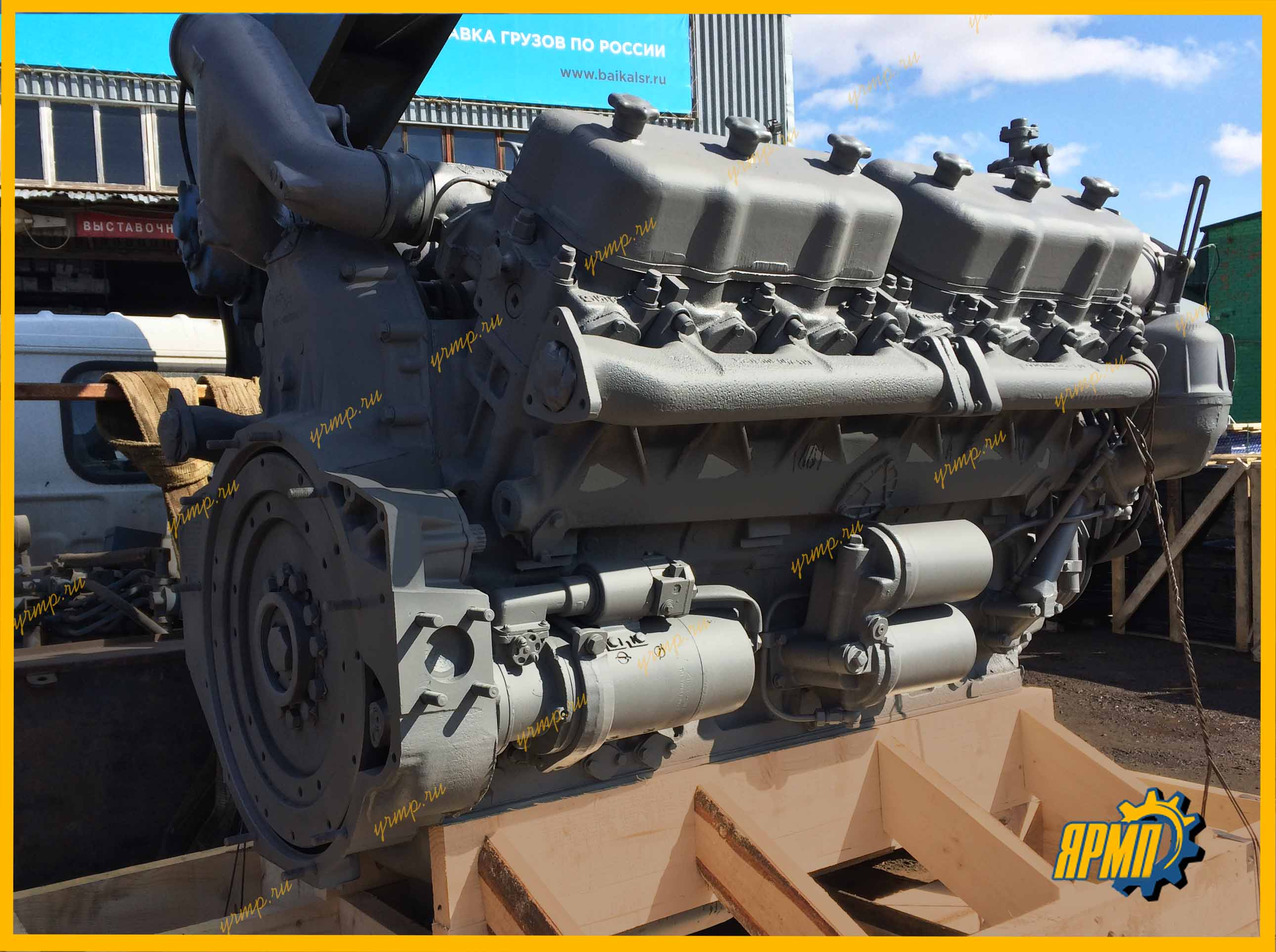 ремонт двигатель ЯМЗ-240БМ2 с гарантией