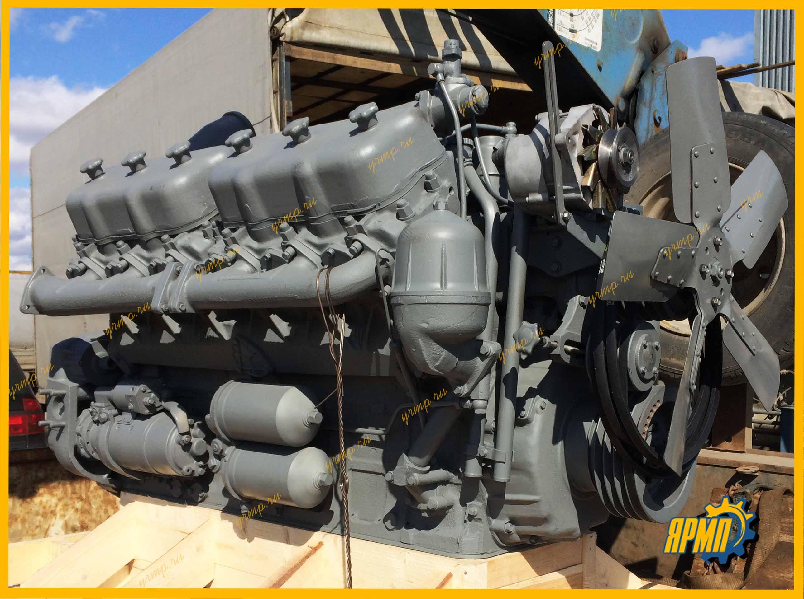 купить двигатель ЯМЗ-240БМ2 с гарантией